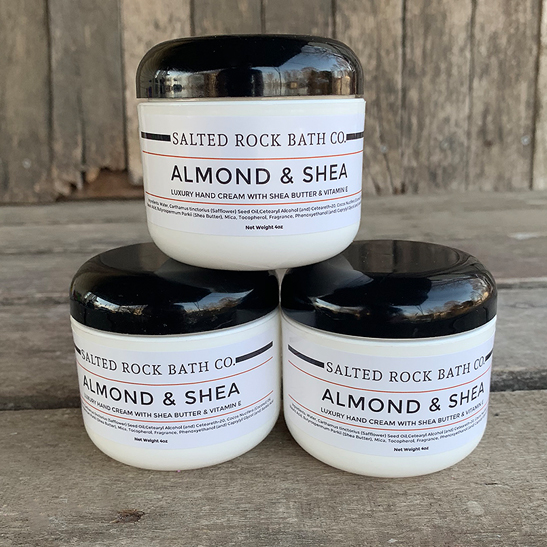 almond and shea hand cream